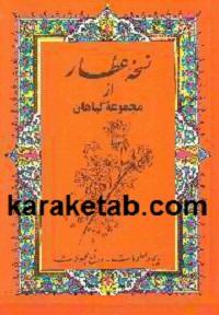 کتاب نسخه عطار نوشته محمد تقی عطار نژاد