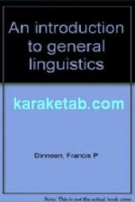 An Introduction to General Linguistics