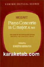 Piano Concerto in C Major, K. 503
